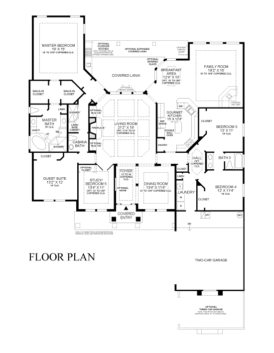 St johns forest community for David homes floor plans