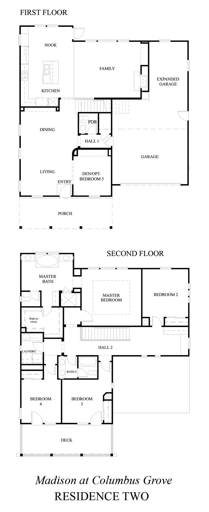 100 Richmond American Homes Floor Plans Haymarket