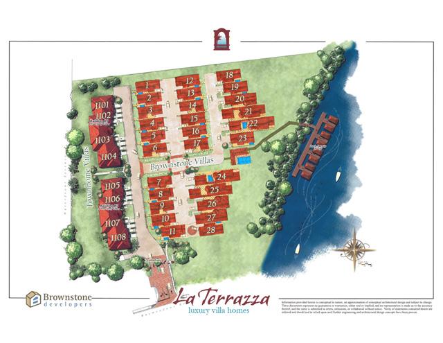 La Terrazza condominiums in Jacksonville, Florida.