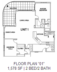 Surfside Floor Plan 1
