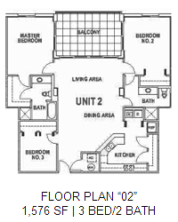 Surfside Floor Plan 2