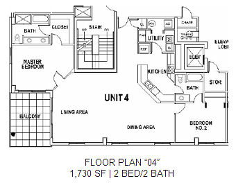 Surfside Floor Plan 4